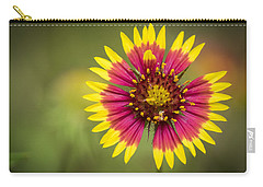 Spring Indian Blanket Carry-all Pouch