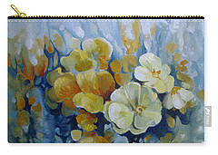Carry-all Pouch featuring the painting Spring Inflorescence by Elena Oleniuc