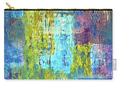Carry-all Pouch featuring the painting Spring Into Summer by Everette McMahan jr
