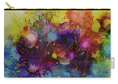 Carry-all Pouch featuring the painting Spring Into Summer by Kate Word