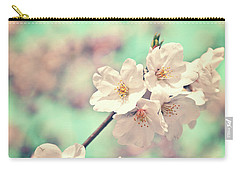 Carry-all Pouch featuring the photograph Spring Is Coming by Delphimages Photo Creations