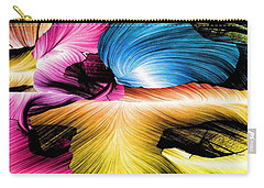 Carry-all Pouch featuring the digital art Spring Is Here by Rafael Salazar