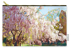 Spring Is In The Air - Flowering Tree Carry-all Pouch by Miriam Danar