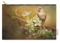 Carry-all Pouch featuring the photograph Spring Is In The Air by Linda Blair