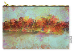 Carry-all Pouch featuring the digital art Spring Is Near by Jessica Wright