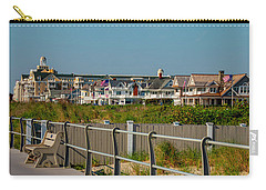 Carry-all Pouch featuring the photograph Spring Lake Boardwalk View by Kristia Adams