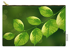 Carry-all Pouch featuring the painting Spring Life by Veronica Minozzi