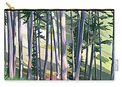 Spring Light And Deer Carry-all Pouch