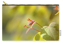 Carry-all Pouch featuring the photograph Spring Macro2 by Jeff Burgess