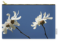 Spring Magnolias Carry-all Pouch by Haleh Mahbod