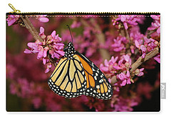 Spring Monarch Carry-all Pouch