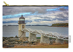 Carry-all Pouch featuring the photograph Spring Morning At Marshall Point by Rick Berk