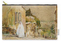Spring Morning At Montmartre Carry-all Pouch