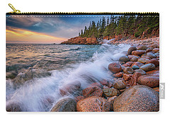 Spring Morning In Acadia National Park Carry-all Pouch by Rick Berk