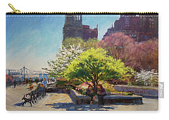 Spring Morning On John Finley Walk Carry-all Pouch