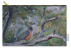 Spring Morning Robin Da Carry-all Pouch