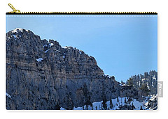 Spring Mountains Natural High Carry-all Pouch by John Glass
