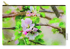 Spring On A Branch Carry-all Pouch