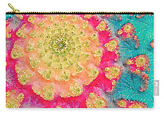 Carry-all Pouch featuring the digital art Spring On Parade 2 by Bonnie Bruno
