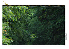 Carry-all Pouch featuring the photograph Spring Path Of Light by Shelby Young