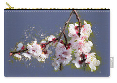 Spring Promise - Apricot Blossom Branch Carry-all Pouch
