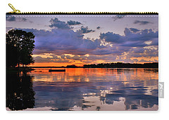 Carry-all Pouch featuring the photograph Spring Reflections by Lisa Wooten
