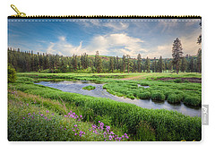 Spring River Valley Carry-all Pouch