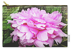 Carry-all Pouch featuring the photograph Spring Serenade  by Trina Ansel