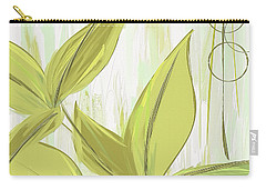 Spring Shades - Muted Green Art Carry-all Pouch by Lourry Legarde