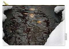 Carry-all Pouch featuring the photograph Spring Snow by EDi by Darlene