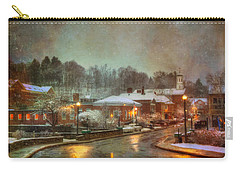 Spring Snow In Peterborough Nh Carry-all Pouch
