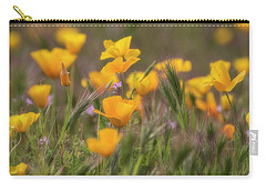 Carry-all Pouch featuring the photograph Spring Softly Calling  by Saija Lehtonen