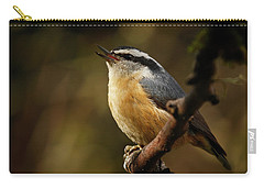 Spring Song - 365-352 Carry-all Pouch by Inge Riis McDonald