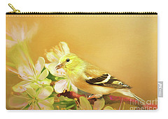 Spring Song Bird Carry-all Pouch by Darren Fisher