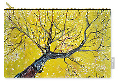 Carry-all Pouch featuring the painting Spring Song by Evelina Popilian