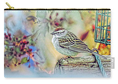 Spring Sparrow Carry-all Pouch
