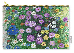 Spring Splendor Carry-all Pouch by Lucia Grilletto