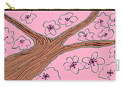 Spring Stained Glass 3 Carry-all Pouch