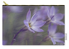 Spring Starflower Carry-all Pouch by Eva Lechner