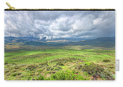 Spring Storm Moving Over The Bradshaw Carry-all Pouch