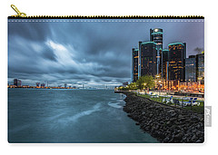 Storm Season In Detroit  Carry-all Pouch