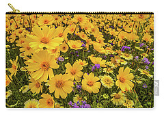 Spring Super Bloom Carry-all Pouch