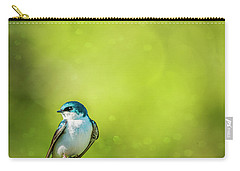 Spring Swallow Carry-all Pouch