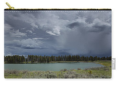 Spring Thunderstorm At Yellowstone Carry-all Pouch