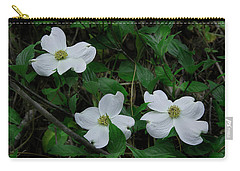 Carry-all Pouch featuring the photograph Spring Time Dogwood by Mike Eingle