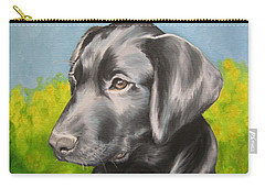 Carry-all Pouch featuring the painting Spring Time by Jindra Noewi