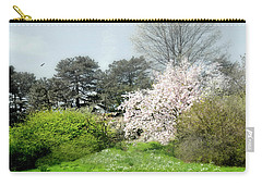 Carry-all Pouch featuring the photograph Spring Treasures by Diana Angstadt