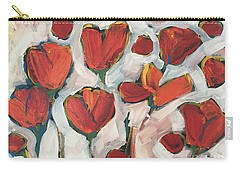Spring Tulip Garden Carry-all Pouch