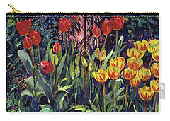 Spring Tulip Pots Carry-all Pouch