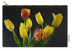 Spring Tulips In Vase Carry-all Pouch